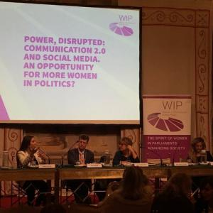 """Roundtable discussion """"Communication 2.0 and Social Media. An opportunity for more women in politics?"""""""