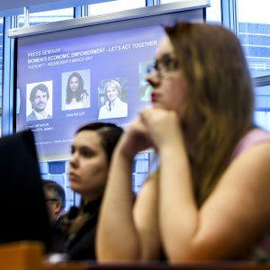 International Women's Day - Debate European Parliament - Hanna Kristjánsdóttir