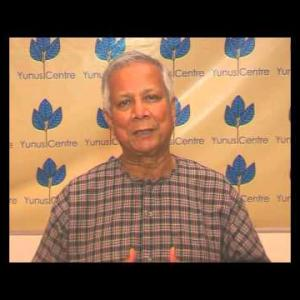 Video message by Muhammad Yunus at the WIP Annual Summit 2013