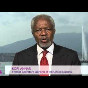 Video message by Kofi Annan at the WIP Annual Summit 2013