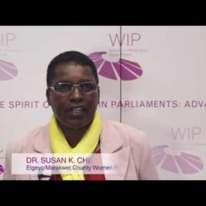 WIP talk with... Susan Chebet